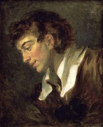 Fragonard, Kopf eines jungen Mannes von AKG  Images