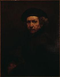 Rembrandt, Selbstbildnis 1659 von AKG  Images