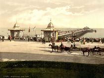 Worthing, Pier / Photochrom von AKG  Images