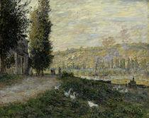 C.Monet, Seineboeschung bei Lavacourt von AKG  Images