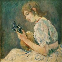 B.Morisot, Die Mandoline by AKG  Images