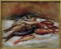 P. A.Renoir, Stilleben mit Fischen von AKG  Images