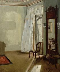 A.von Menzel, Das Balkonzimmer/ 1845 von AKG  Images