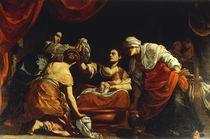 S.Vouet, Geburt Mariae von AKG  Images