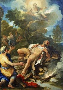 L.Giordano, Herkules auf Scheiterhaufen by AKG  Images