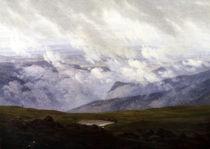 C.D.Friedrich, Ziehende Wolken / 1821 by AKG  Images
