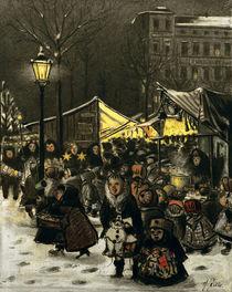 H.Zille, Weihnachtsmarkt am Arkonaplatz von AKG  Images
