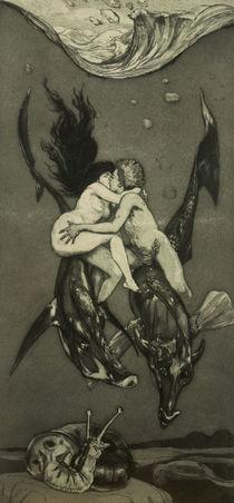Max Klinger, Verfuehrung, Op.VIII,4 /1884 von AKG  Images