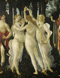 Botticelli, Primavera, Grazien von AKG  Images