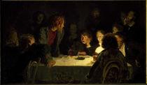 Geheime Zusammenkunft / Gem.v.Repin von AKG  Images