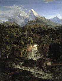 L.Richter, Der Watzmann/ 1826 von AKG  Images