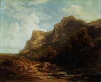 Spitzweg/Bayr.Gebirgslandschaft/um 1870 von AKG  Images