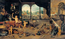 J.Brueghel d.Ae., Vanitas von AKG  Images
