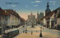 Eisleben, Marktplatz / Postkarte von AKG  Images