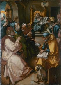 Albrecht Duerer, Zwoelfjaehr.Jesus im Temp. von AKG  Images