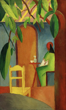 A.Macke, Tuerkisches Cafe II by AKG  Images