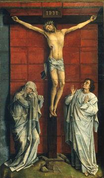 R.v.d.Weyden, Christus am Kreuz von AKG  Images