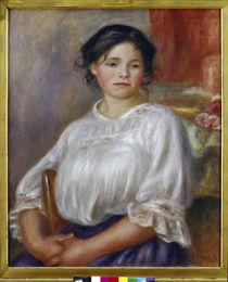 A.Renoir, Sitzendes junges Maedchen von AKG  Images