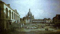 Dresden, Neumarkt / Bellotto by AKG  Images