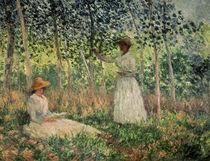 C.Monet, Suzanne und Blanche Hoschede by AKG  Images