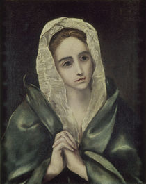 El Greco, Mater dolerosa, 1585 von AKG  Images