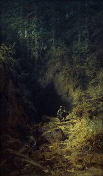 C.Spitzweg, Schulkinder im Wald von AKG  Images