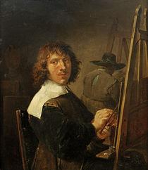 D.Teniers d.J.,Das Gesicht/Selbstbildnis von AKG  Images
