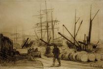G.Courbet, Der Hafen von Ostende von AKG  Images