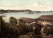 Kiel, Hafen / Photochrom um 1900 von AKG  Images