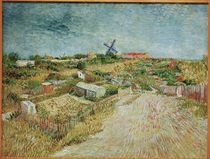 V.v.Gogh,Gemuesegaerten, Butte Montmartre von AKG  Images
