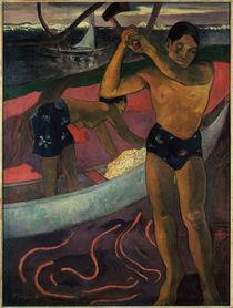 P.Gauguin, Der Holzhacker aus Pia von AKG  Images