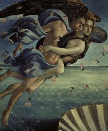 Botticelli, Geburt der Venus, Windgoetter von AKG  Images