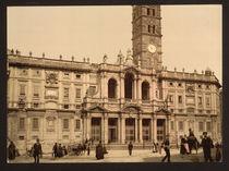 Rom, S.Maria Maggiore / Photochrom von AKG  Images