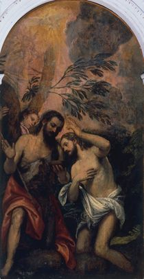Veronese zugeschr., Taufe Christi by AKG  Images