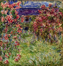 Claude Monet, Haus in den Rosen by AKG  Images