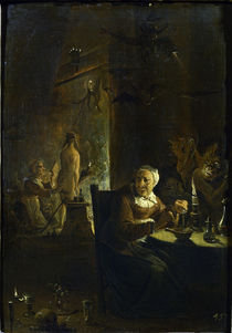 Teniers, Die Hexenkueche von AKG  Images