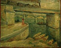 V.v.Gogh, Die Bruecken von Asnieres by AKG  Images