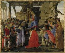 Sandro Botticelli, Anbetung der Koenige by AKG  Images