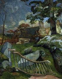 Paul Gauguin,  Das Gatter von AKG  Images