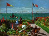 Claude Monet, Garten in Sainte von AKG  Images