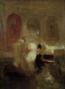 W.Turner, Soiree in East Cowes Castle by AKG  Images