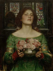 J.W.Waterhouse, Gather Ye Rosebuds... by AKG  Images