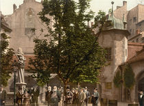 Muenchen, Hofbraeuhaus/ Photochrom by AKG  Images