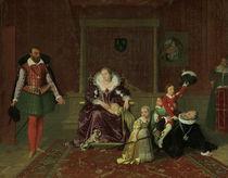 Heinrich IV.v.FK spielt... / Ingres von AKG  Images