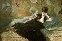 E.Manet, Die Dame mit den Faechern by AKG  Images