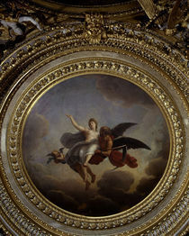 Vaux le Vicomte/Koenigszimmer/Medaillon by AKG  Images