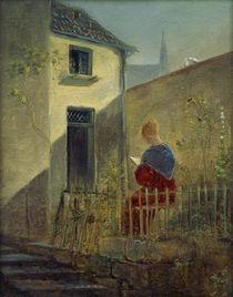 C.Spitzweg, Im Hausgarten by AKG  Images