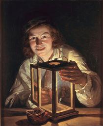 Waldmueller, Junge mit Laterne/ 1824 von AKG  Images