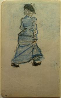 A.Macke, Frau auf der Strasse I by AKG  Images