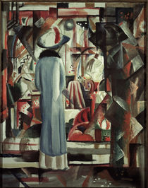 August Macke, Grosses helles Schaufenster by AKG  Images